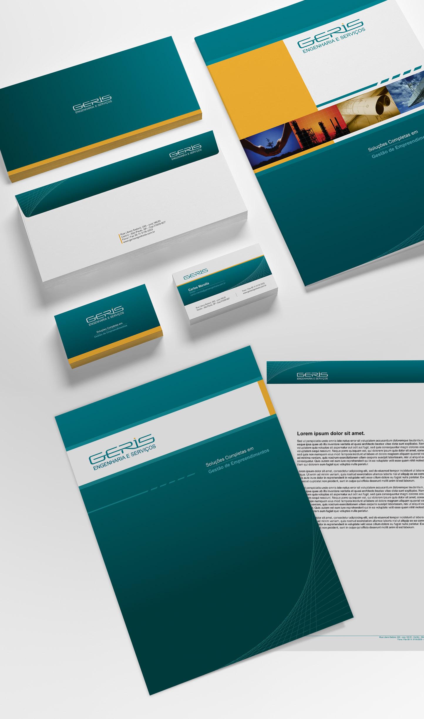 Identidade Corporativa Design Criação