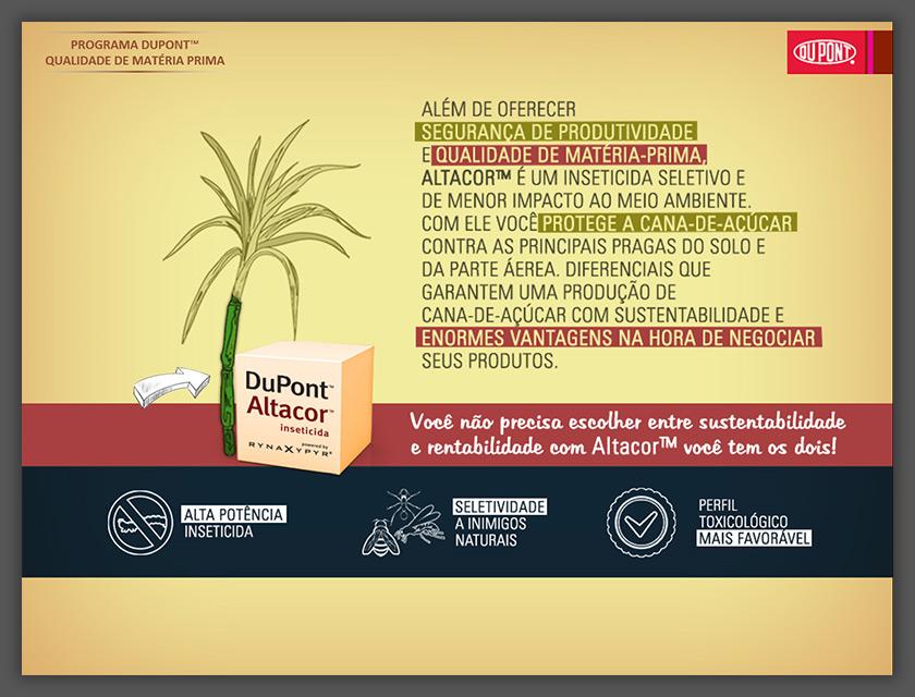 Apresentação Exemplo Produto Dupont